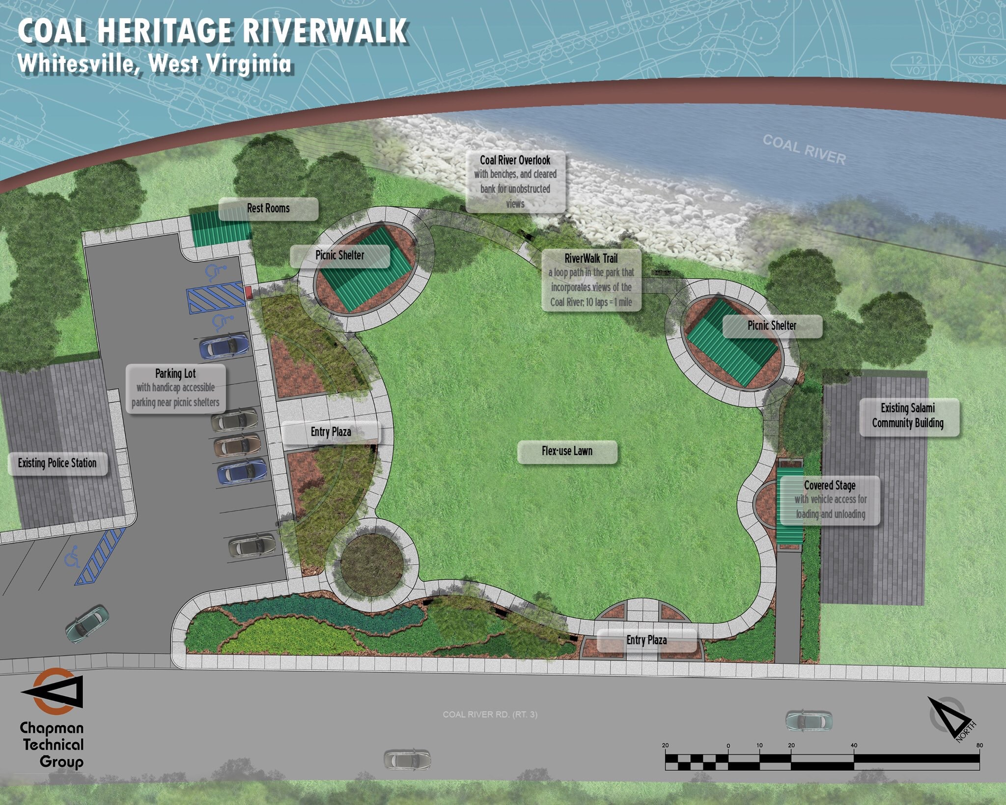 Park rendering