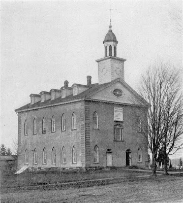 Kirtland temple in the early 1900s