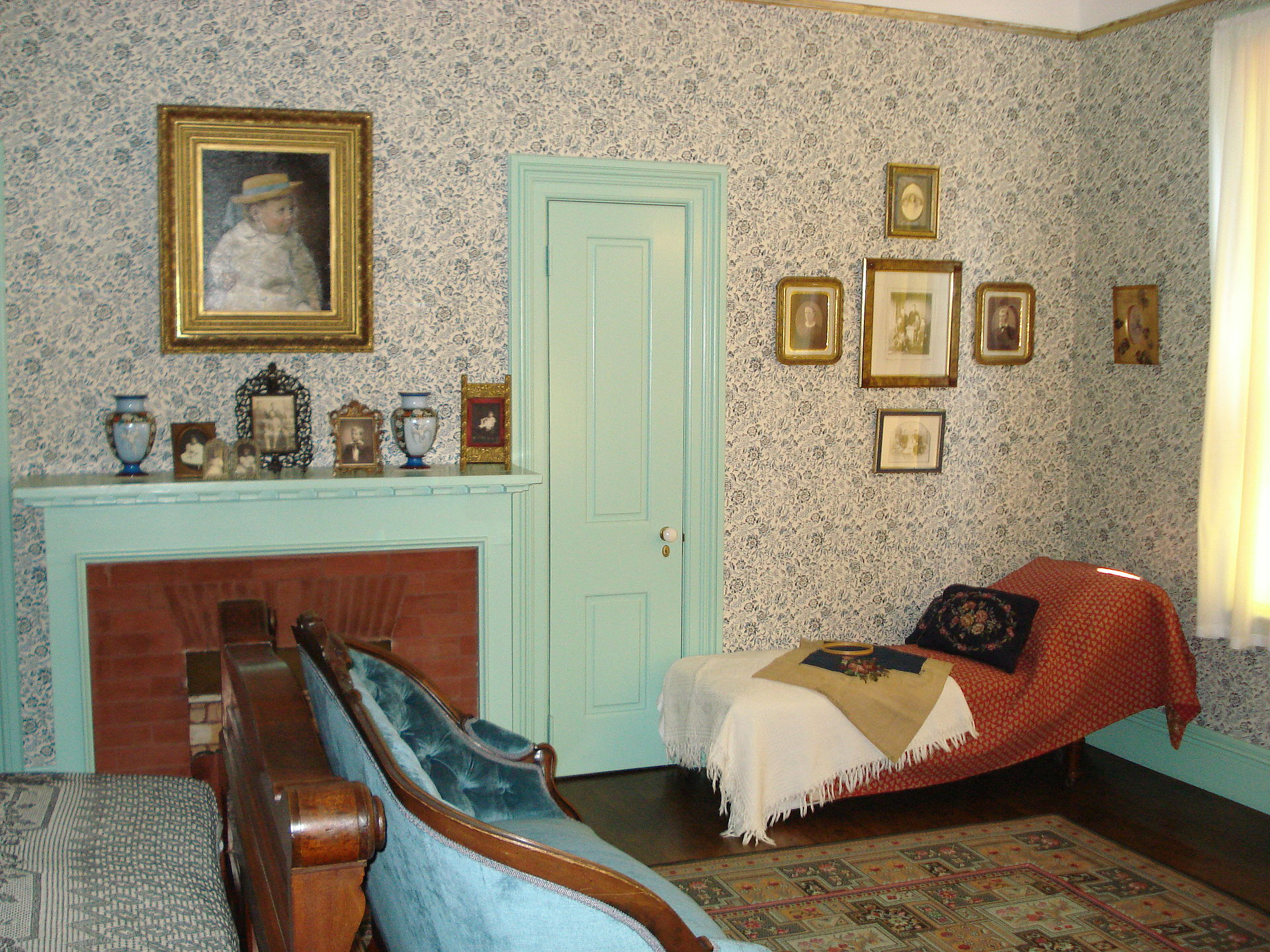 Bedroom in Garfield's Mentor Ohio Home