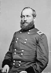 Brigadier General James A. Garfield, 1863. Also served as a Congressman in DC for Ohio at the same time.