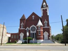 Antioch Baptist church built in 1903.