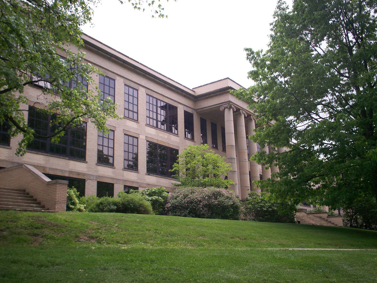 Merrill Hall today