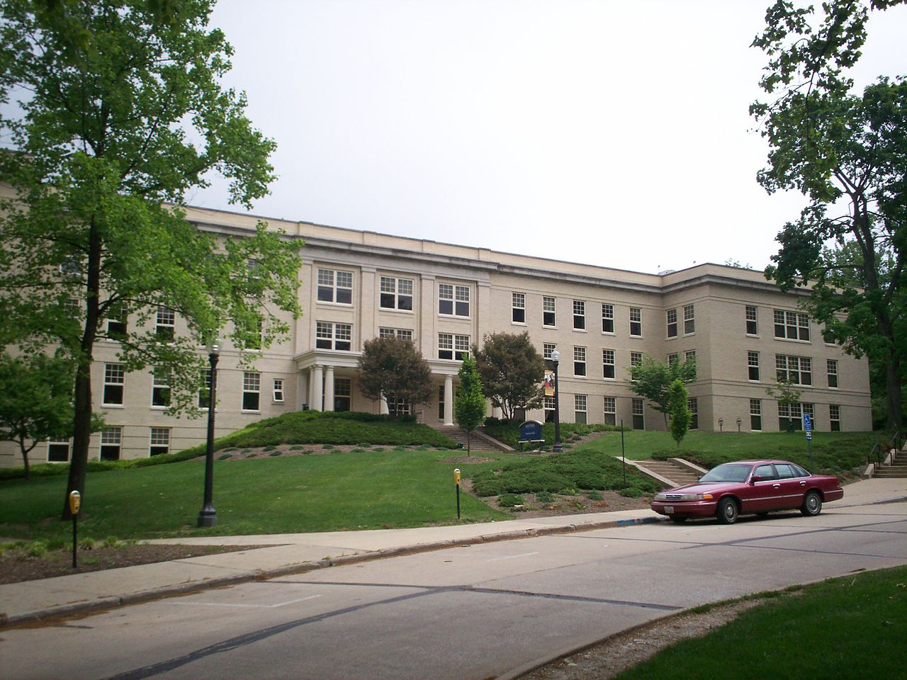 Moulton Hall today