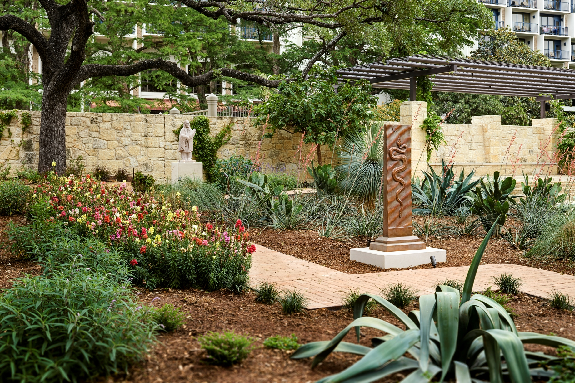 Sculpture Yard (Photo courtesy of the Briscoe Western Art Museum)