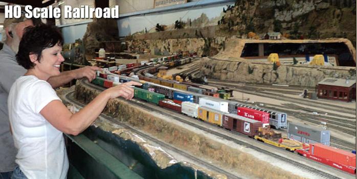 Scale Railroad (Photo courtesy of Texas Transportation Museum)