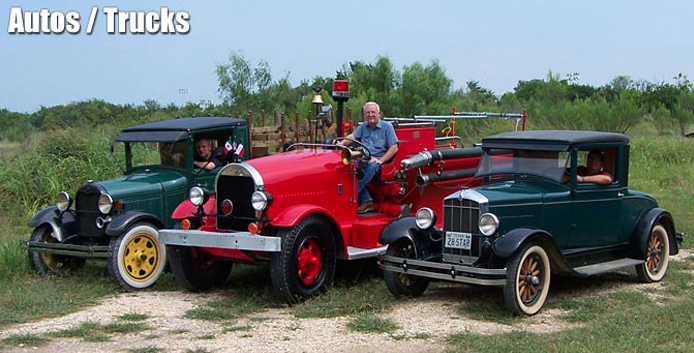 Museum Auto Collection (Photo courtesy of Texas Transportation Museum)