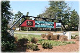 North Carolina Transportation Museum Entrance