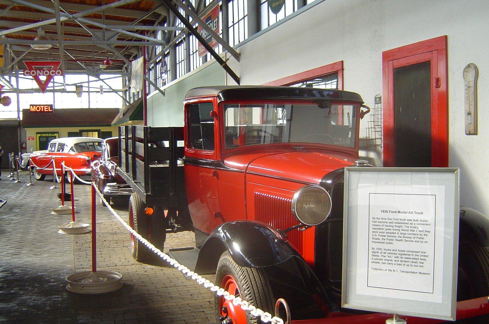 North Carolina Transportation Interior Car Exhibit