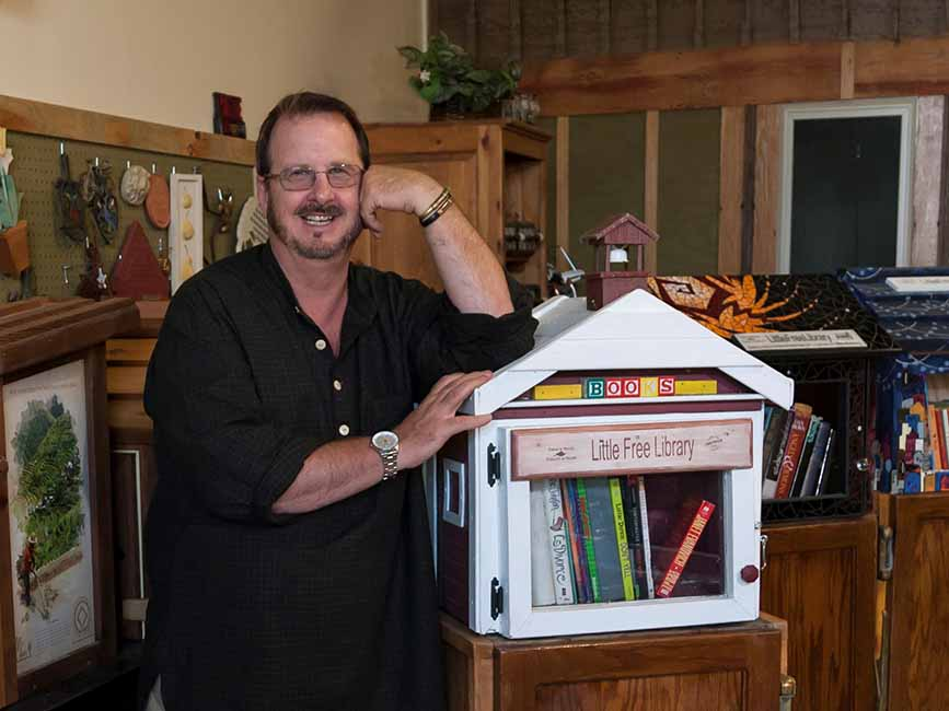 Todd H. Bol - Founder of Little Free Libraries