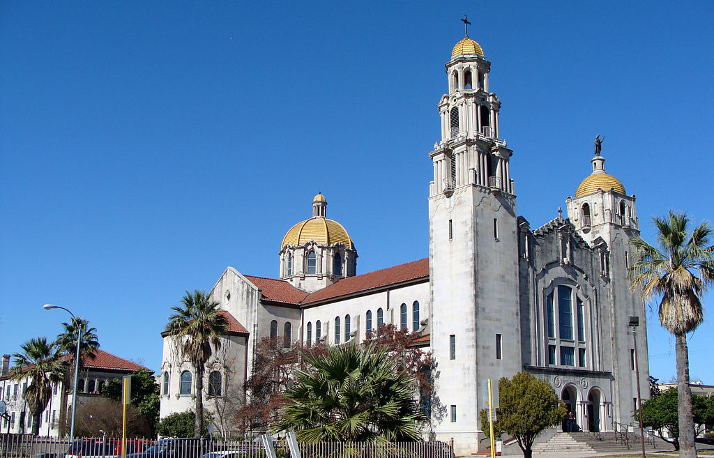 The Basilica of the Little Flower was completed in 1931.