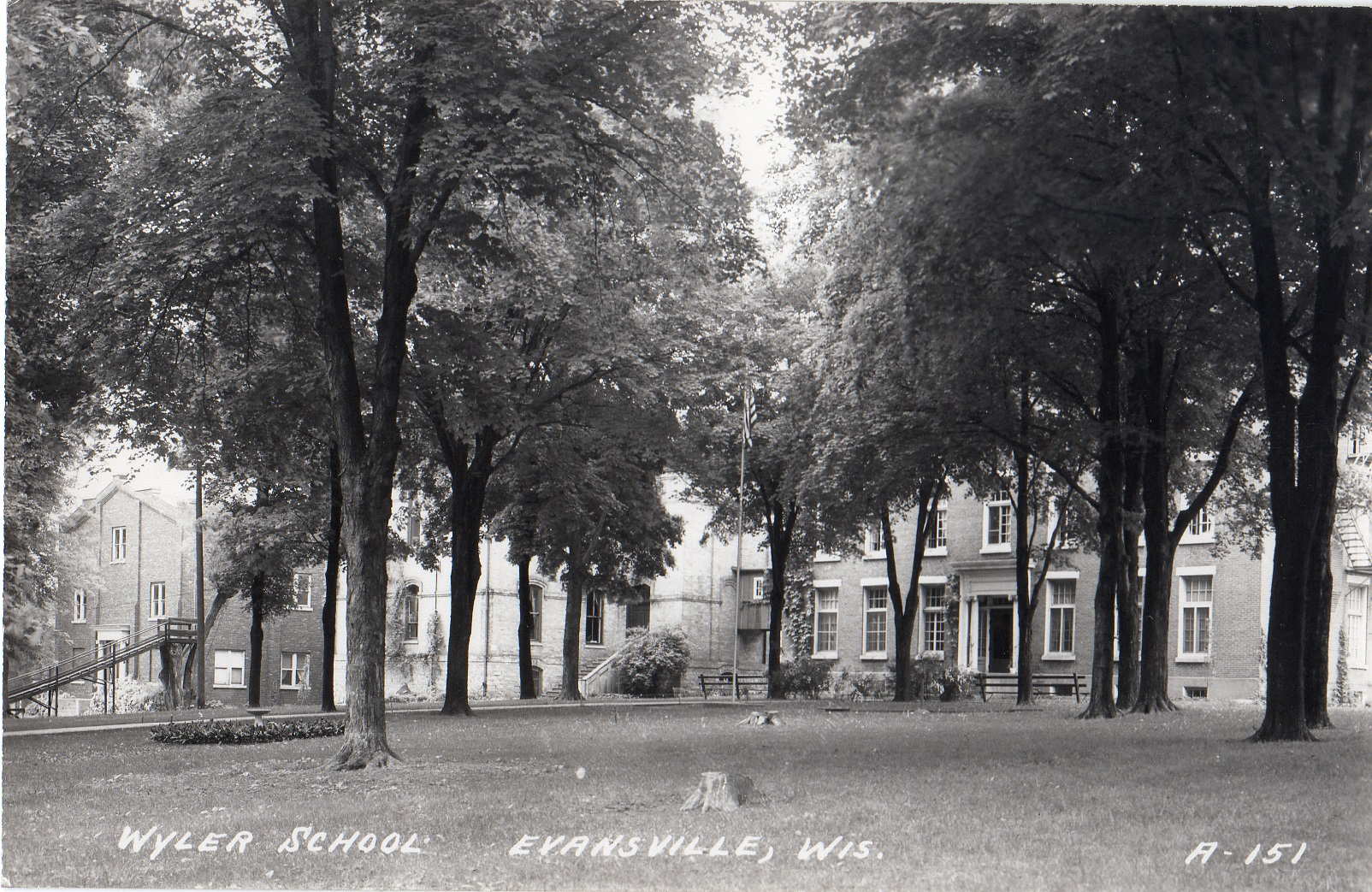 Wyler Military School as it once looked.