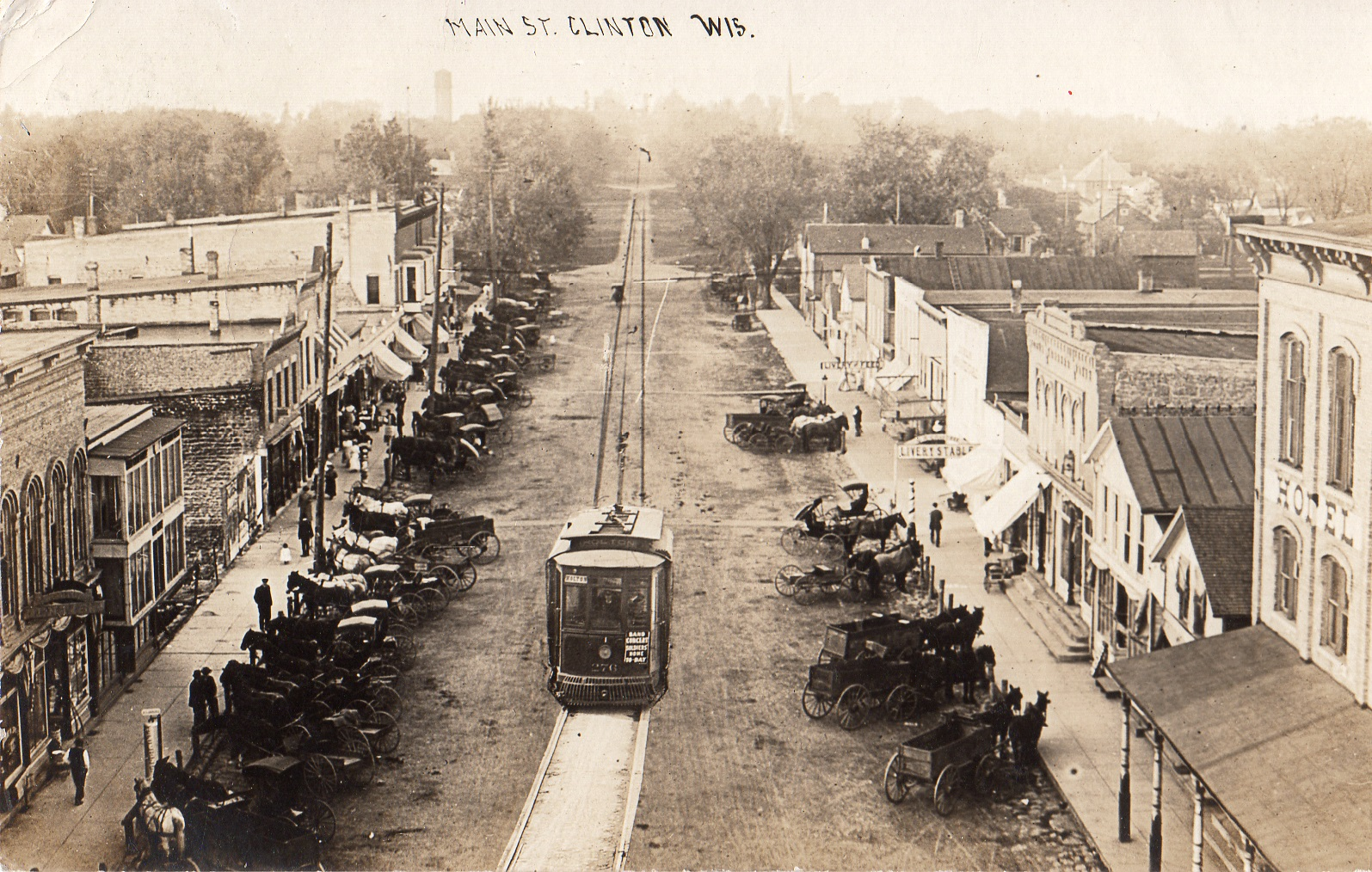 Main Street as it once was.