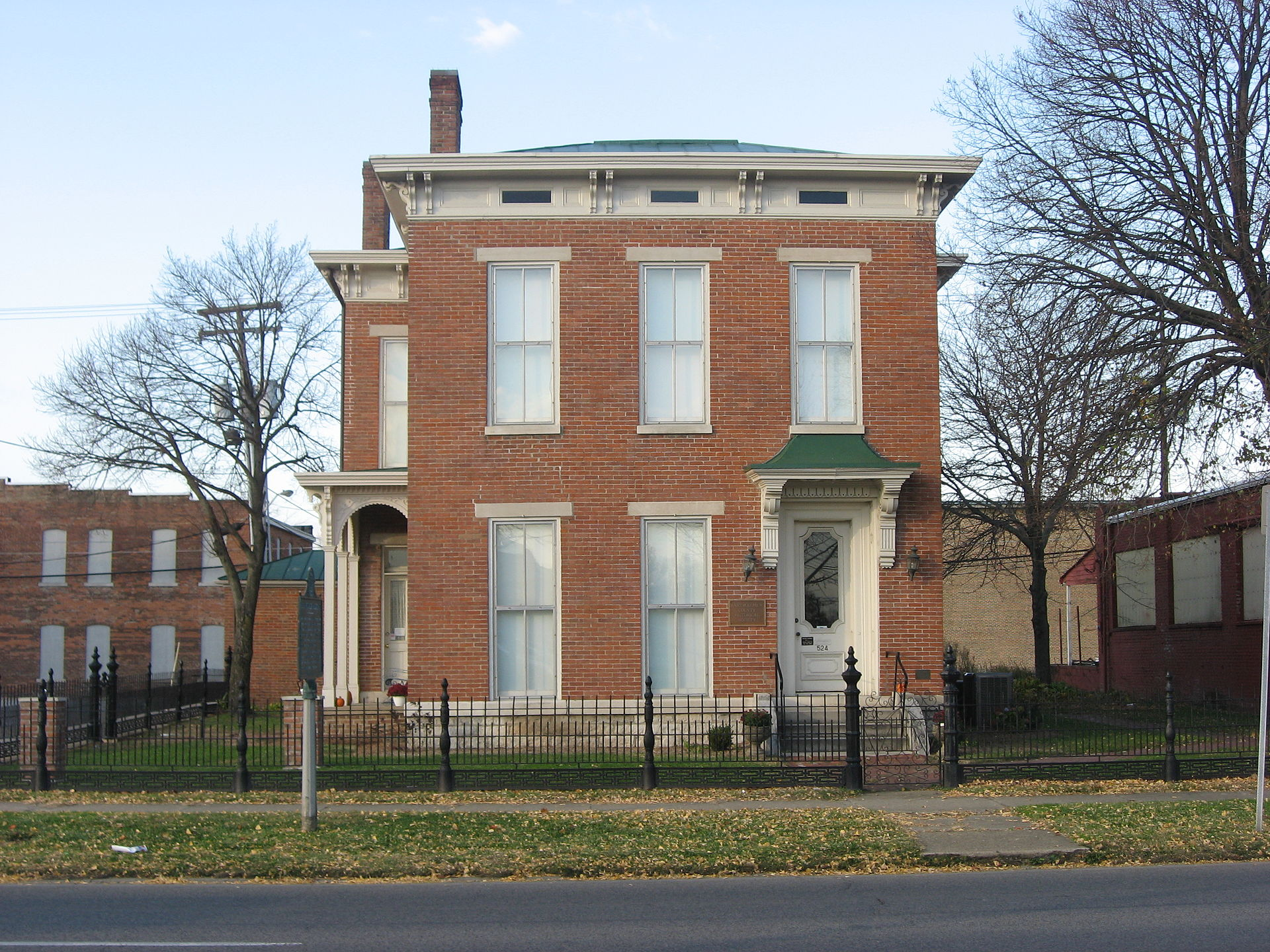 The McEwen-Samuels-Marr House, now the Bartholomew County Historical Museum.