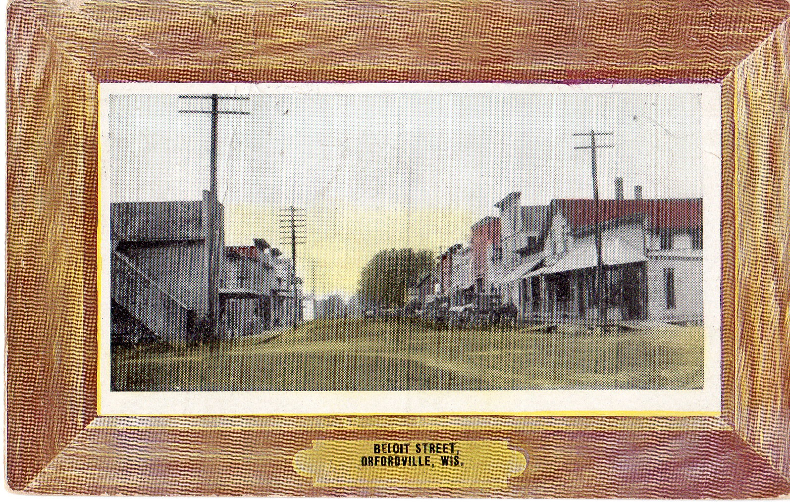 Postcard of Beloit Street