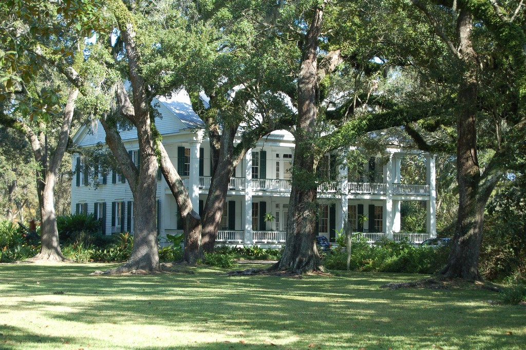 The Albania Plantation House on the National Register of Historic Places.