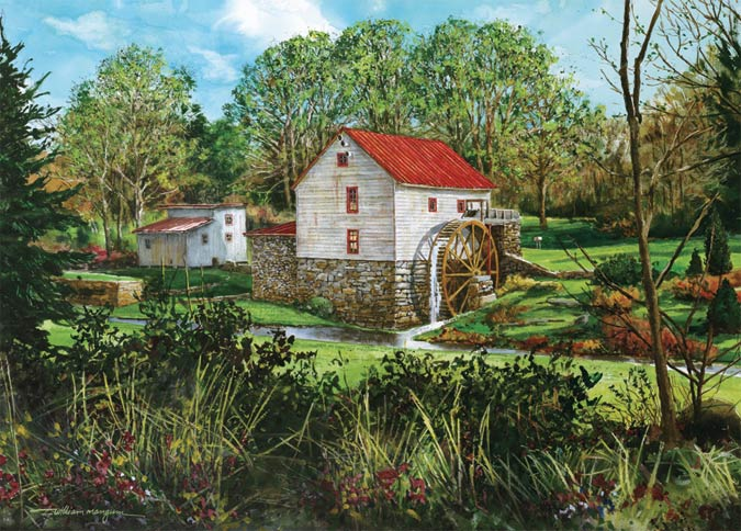 Old Mill of Guilford Art Print