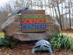 Greensboro Science Center Entrance