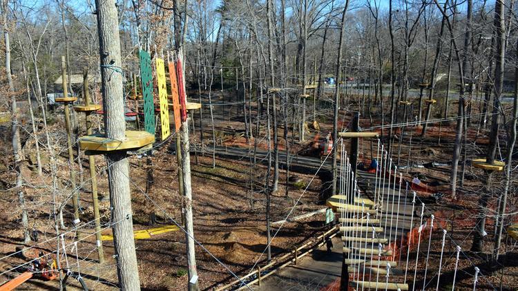 Greensboro Science Center Ropes Course
