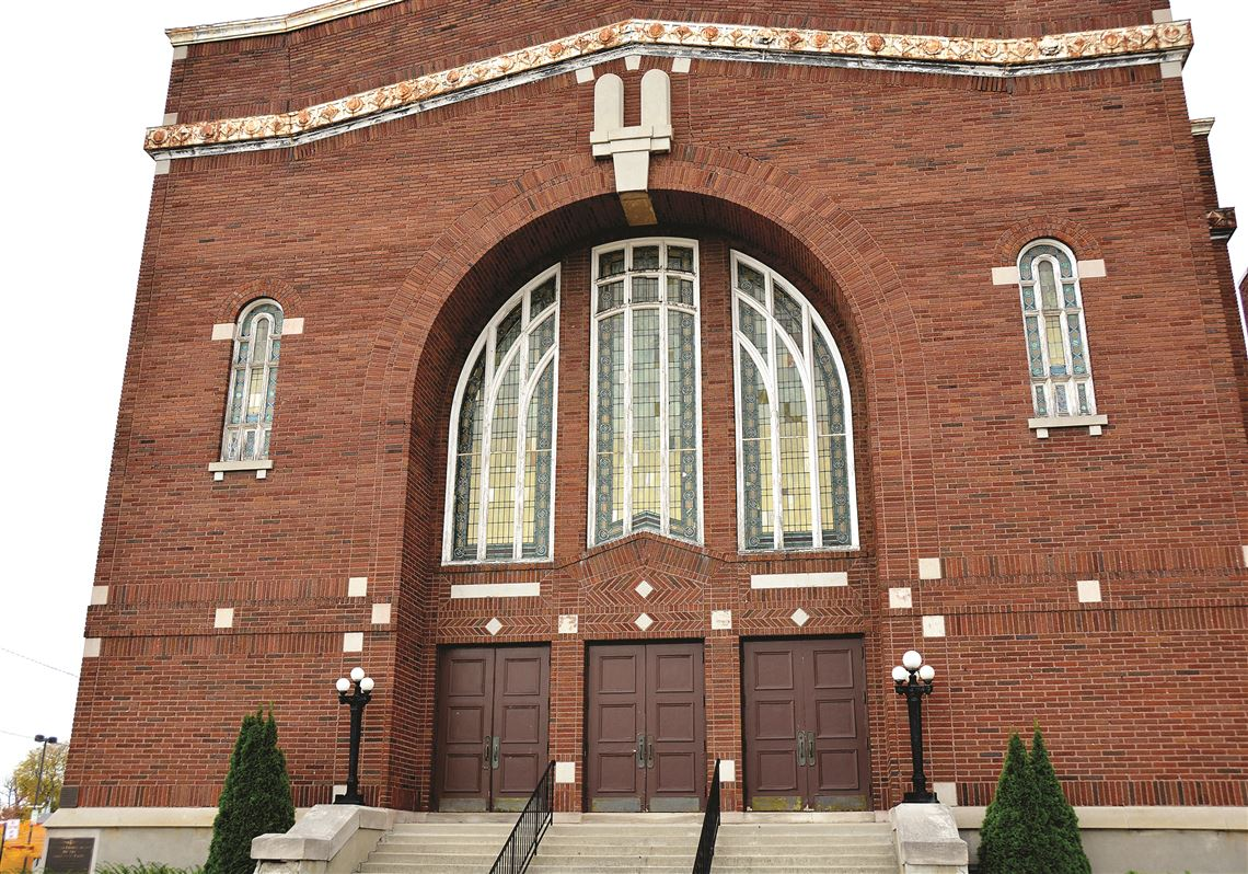 The The True Church Of God Of The Apostolic Faith/B'nai Israel Synagogue as it stands today.