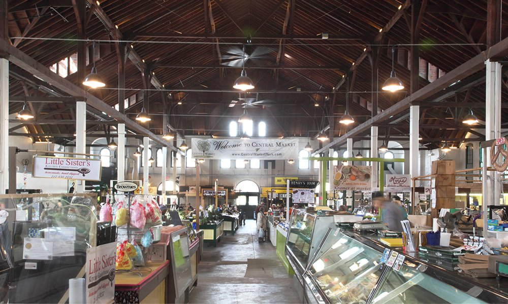 Over 50 vendors now call the York Central Market home.