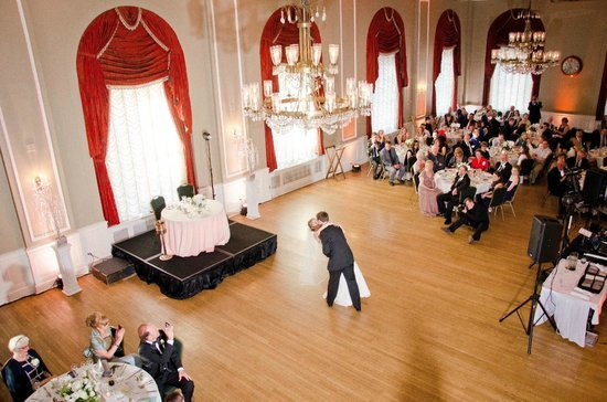 The Yorktowne was a popular wedding venue and will hopefully be again in the near future.