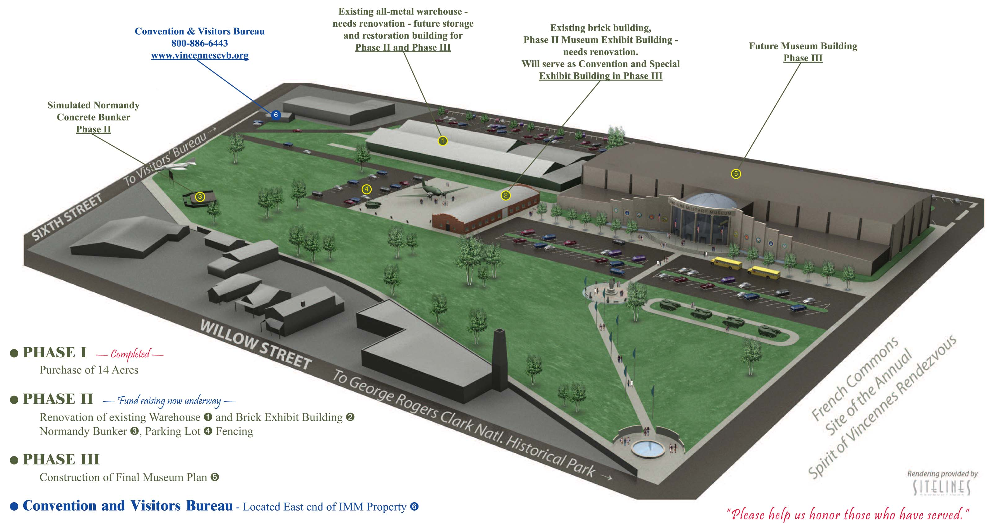 Diagram of the museum expansion plan