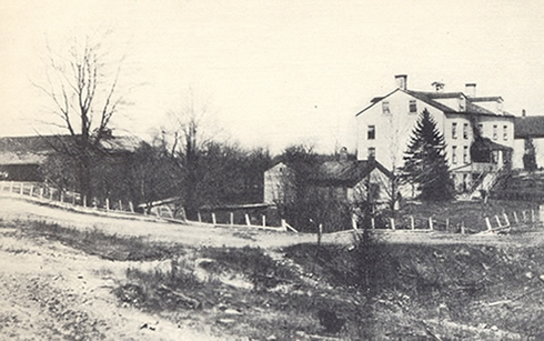 Mill Family House in 1899
