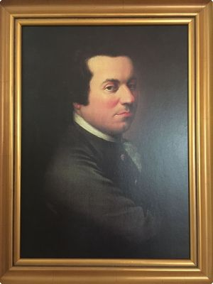 undated portrait of Jonathan Potts, son of John Potts. Jonathan was a doctor and one of the many assistants to George Washington