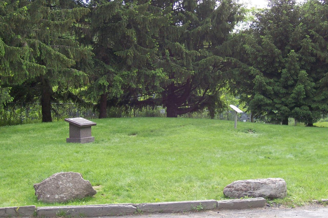 Site of Aaronic Priesthood Restoration site in 2006