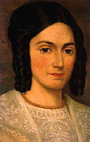 1830s portrait of Emma Smith