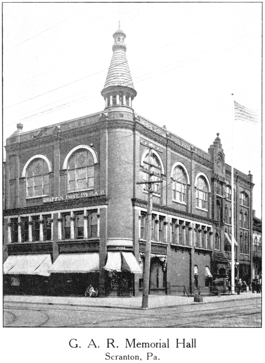 The GAR building as seen shortly after it was purchased by the Grand Army of the Republic in 1901.