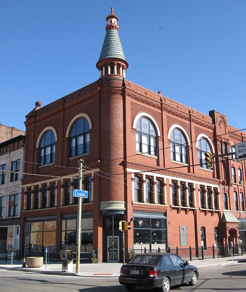 The GAR building as it looks today. Angle of this photo is roughly from the same angle as the early 1900 photo posted above.