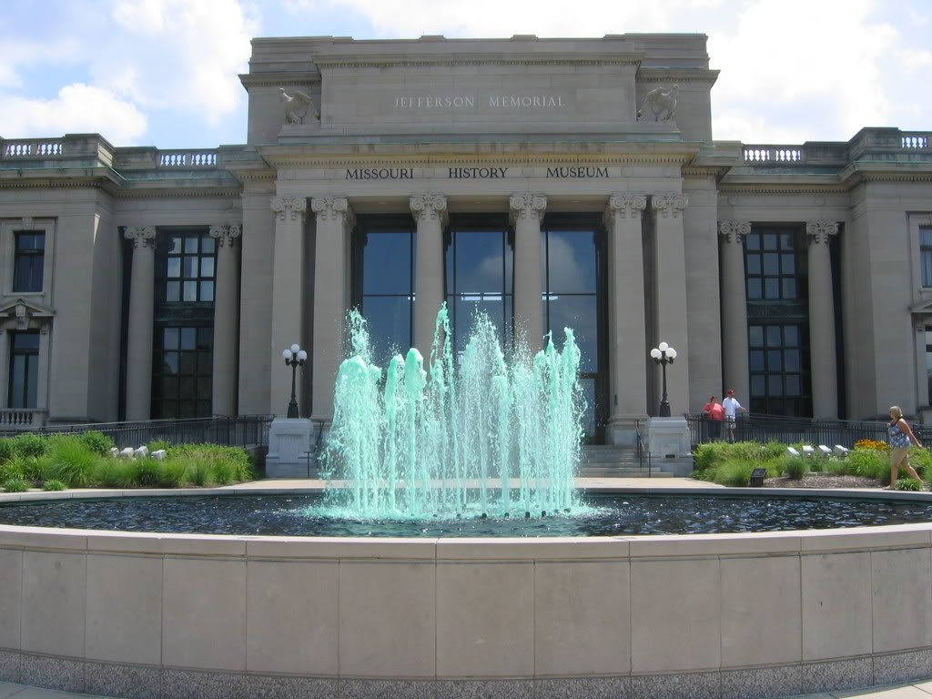 Opened in 1892 and in this building since 1913, the Missouri History Museum features a collection that significant on the state and national levels.