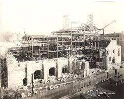 Masonic Hall/Cultural Center under construction in 1928. Courtesy of the Scranton Cultural Center