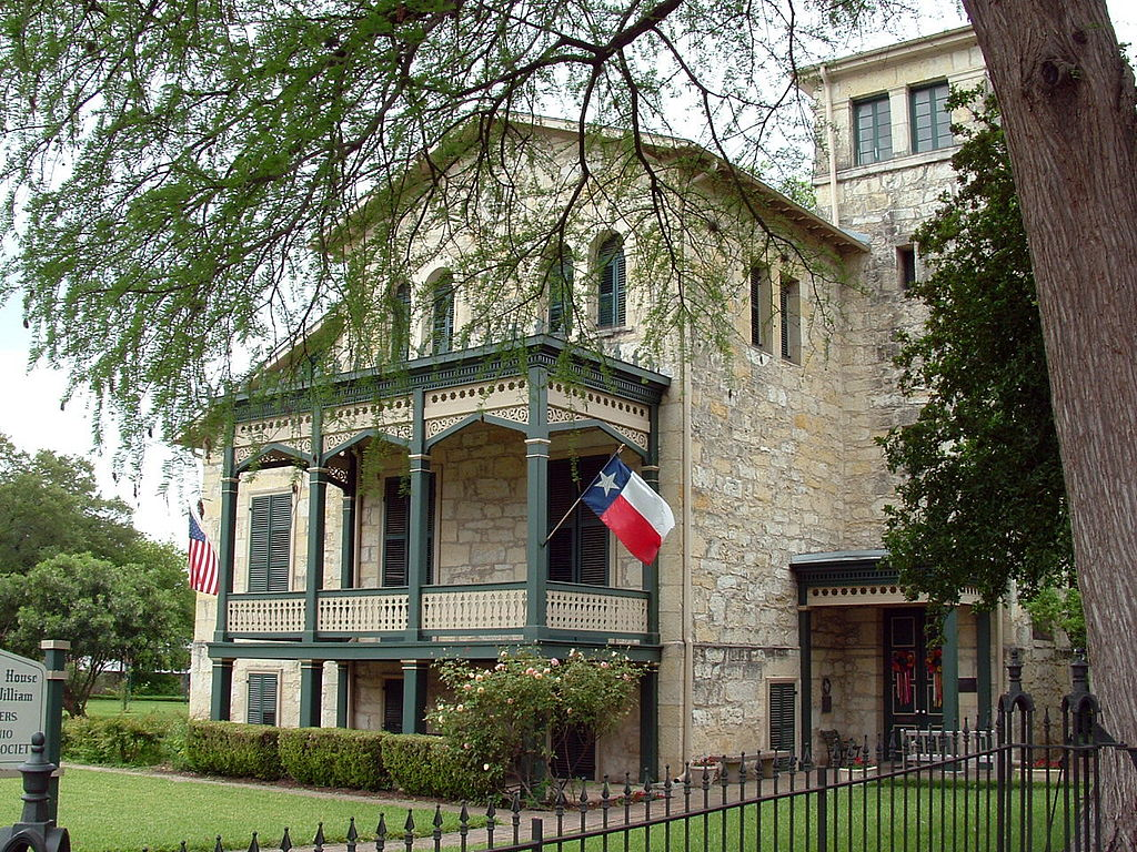 """Anton Wulff House, San Antonio TX"" by Ernest Mettendorf - Wikipedia:Contact us/Photo submission. Licensed under Public Domain via Wikimedia Commons - https://commons.wikimedia.org/wiki/File:Anton_Wulff_House,_San_Antonio_TX.JPG#/media/File:Anton_Wul"