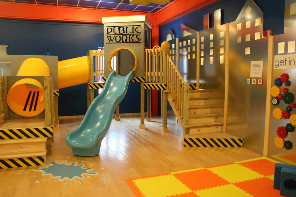 A view of one of the play areas in the museum