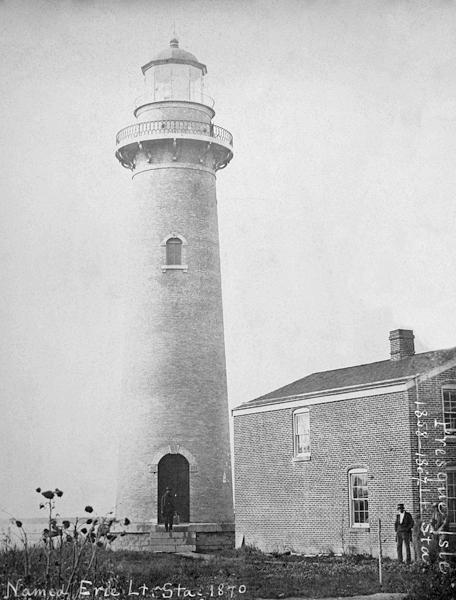 Erie Land Light in 1867