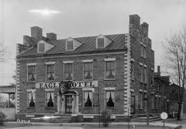 Eagle Hotel in 1937