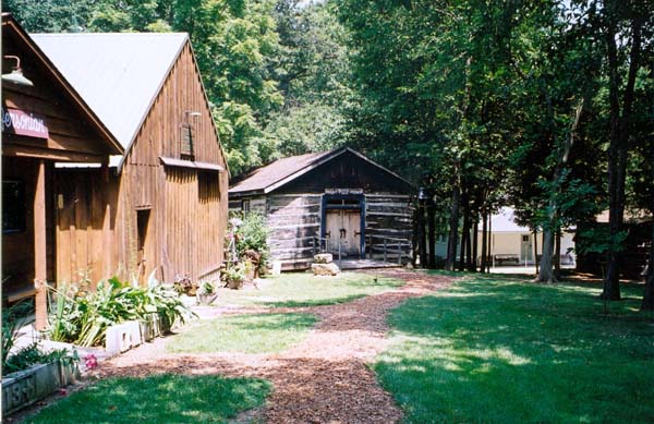 View of some of the buildings at the Jefferson County Historical Society Village and Museum