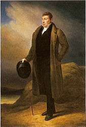 Marquis de Lafayette in 1824. As he would have appeared in 1825 when he visited Erie, PA