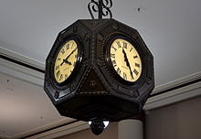 Famed clock in Boston Store