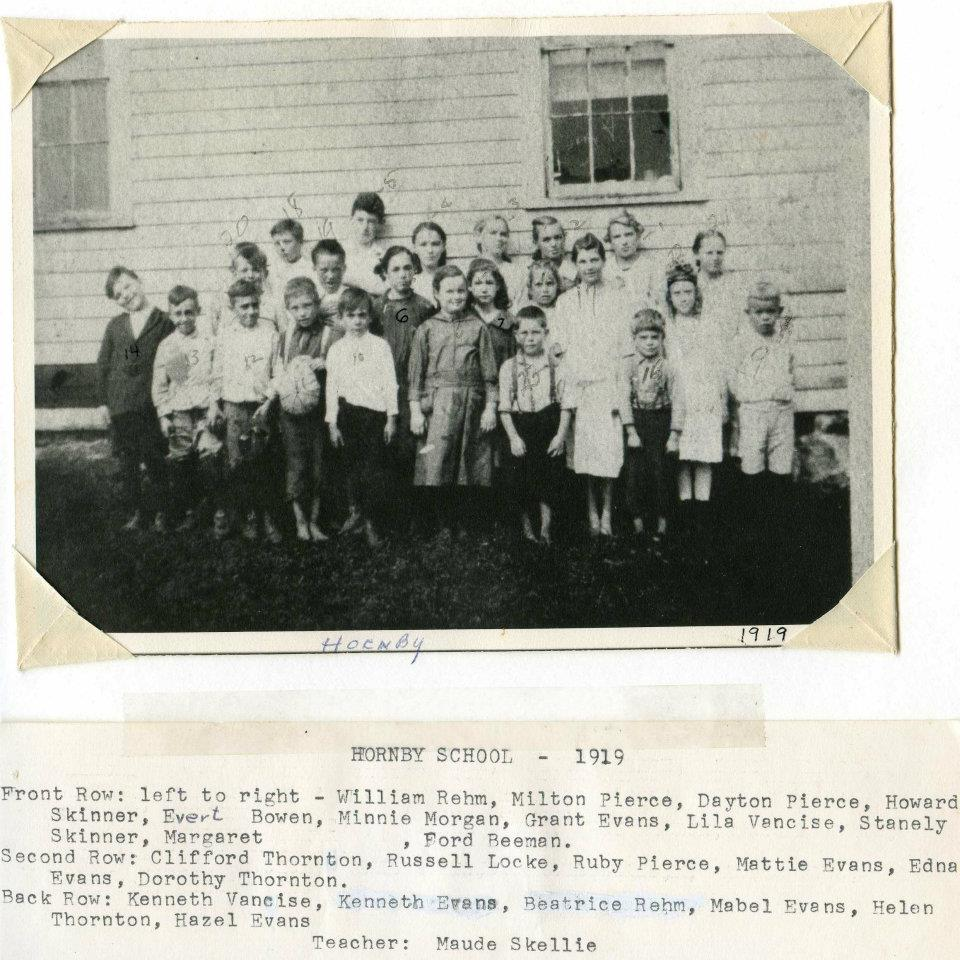 Hornby school and class, 1919