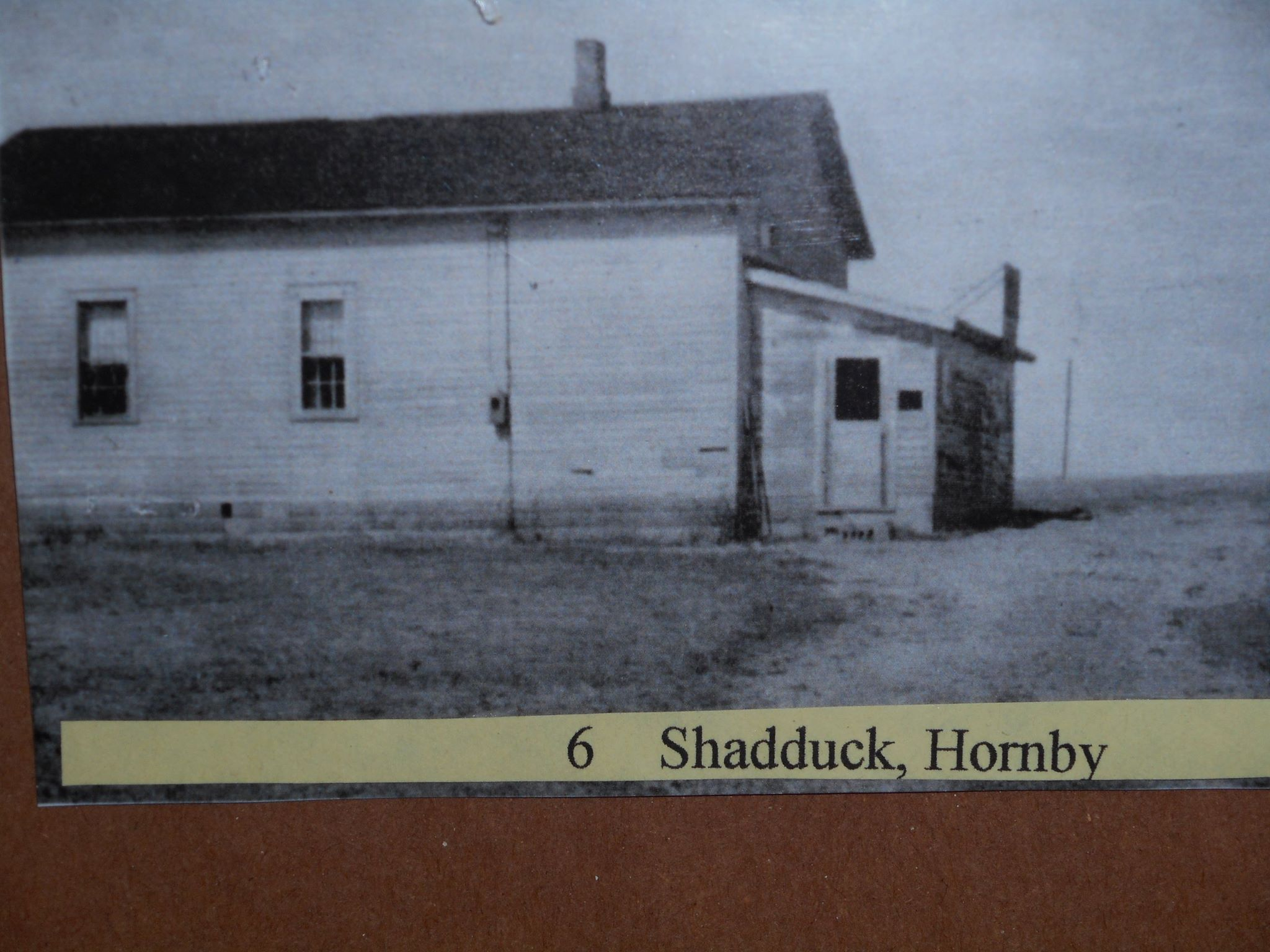Hornby School as it looked in 1970 after 20 years of neglect and a couple years before it was restored.