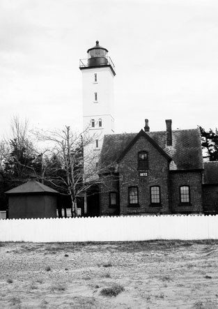 Lighthouse after it was renovated in 1896
