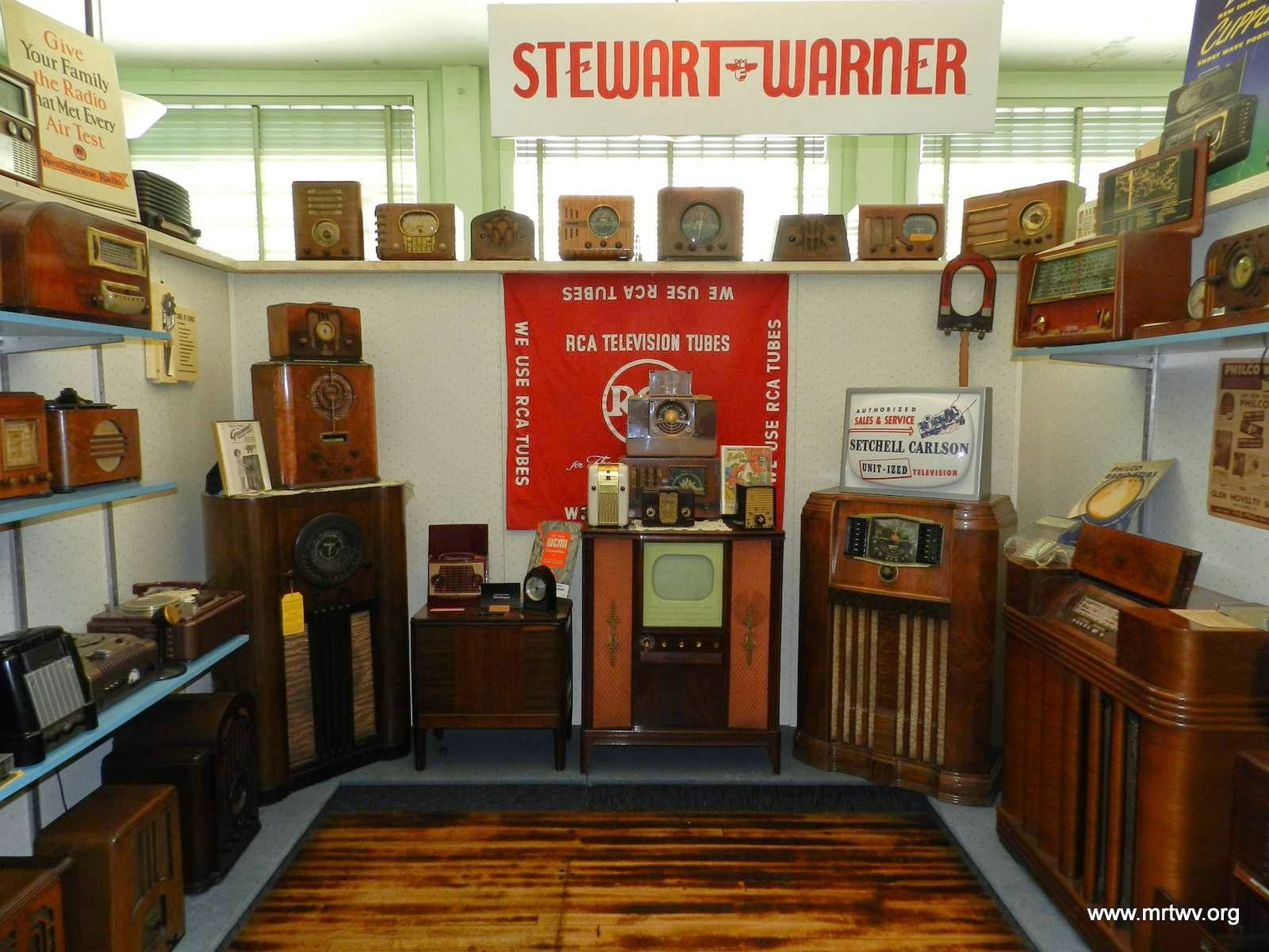 The Museum of Radio and Technology has a variety of different radios from the 1920s to modern times. Image obtained from the Museum of Radio and Technology.
