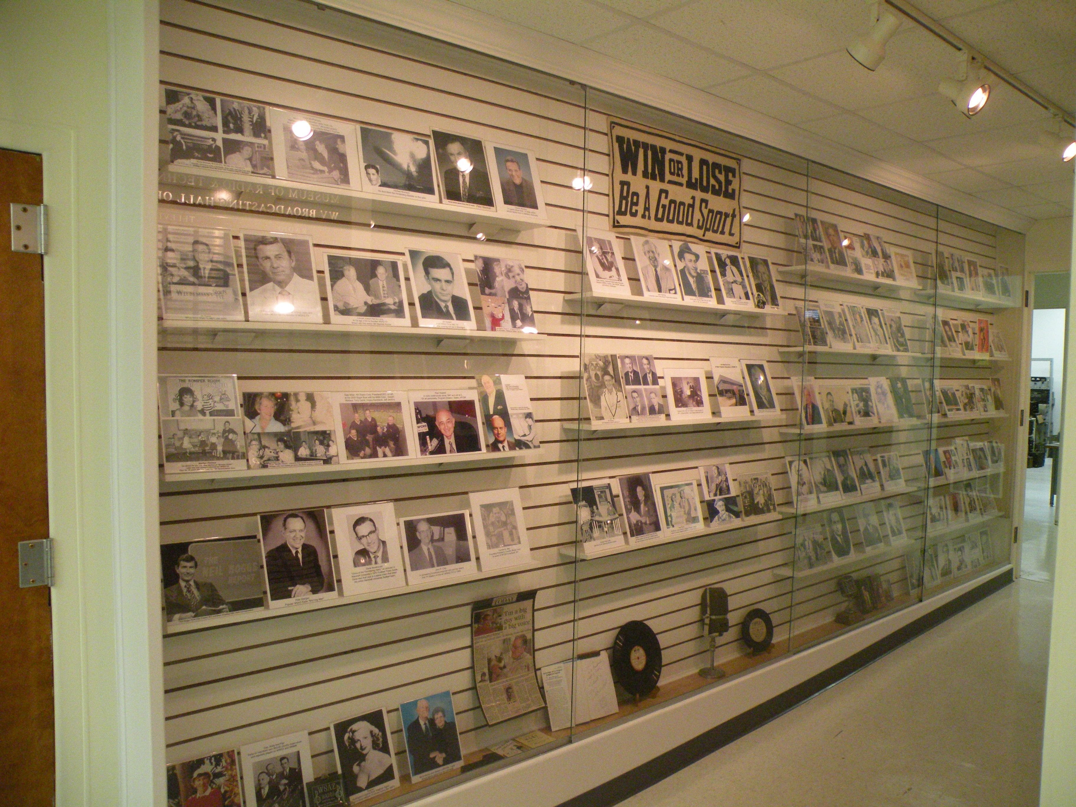 The museum is home to the West Virginia Broadcasting Hall of Fame, with over 200 inductees. Image obtained from the Museum of Radio and Technology.