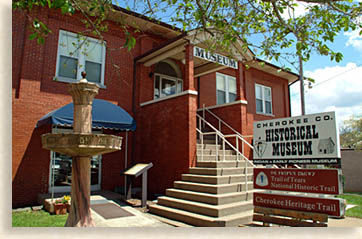 The museum is located in the former Carnegie Library in downtown Murphy.
