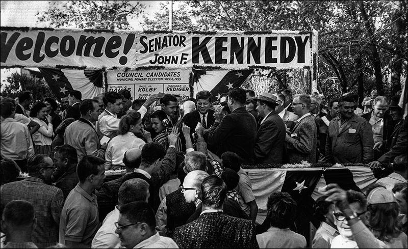 JFK in Toledo in 1959