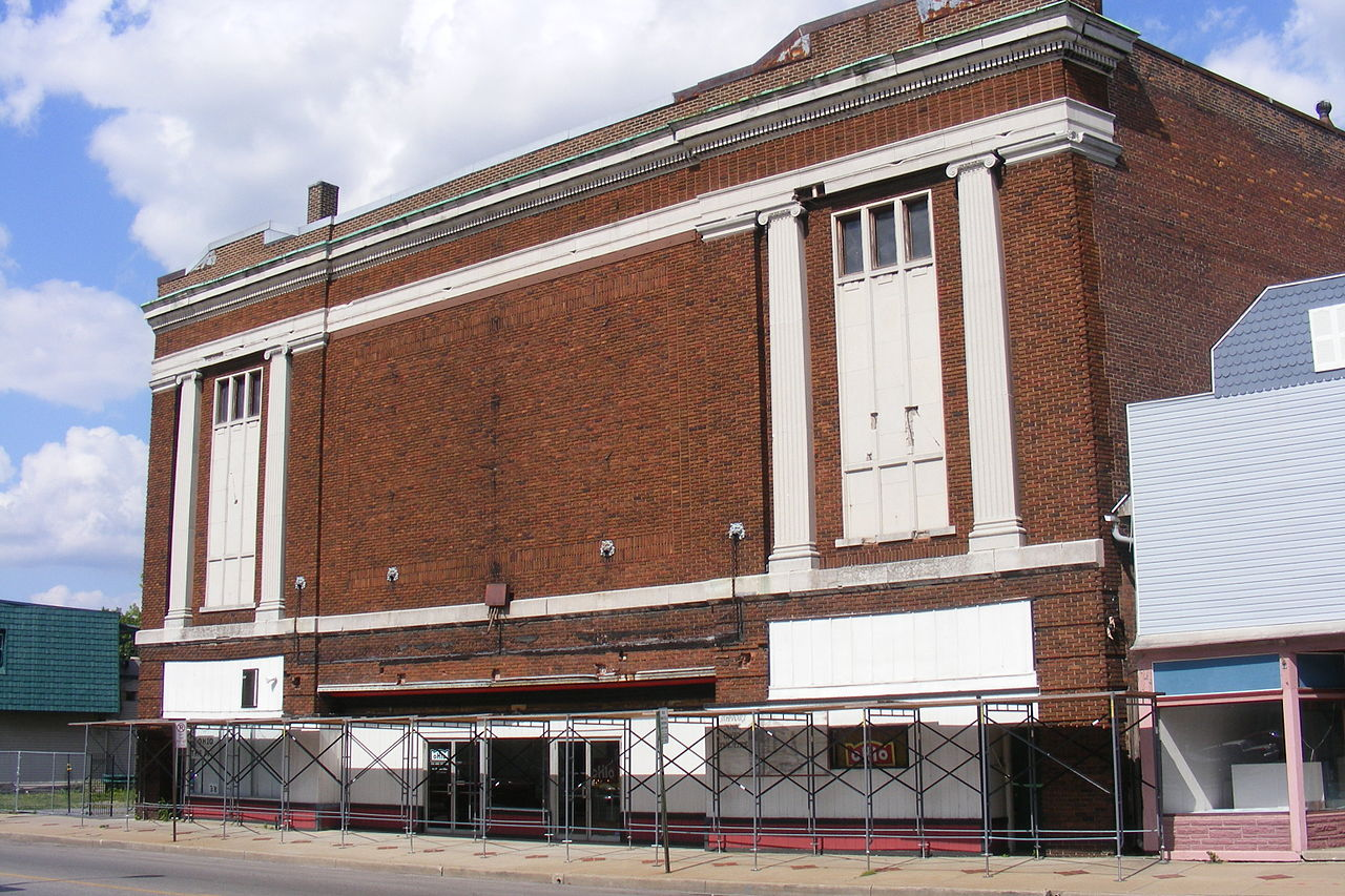 Ohio Theatre in 2011 taken before renovation work was completed