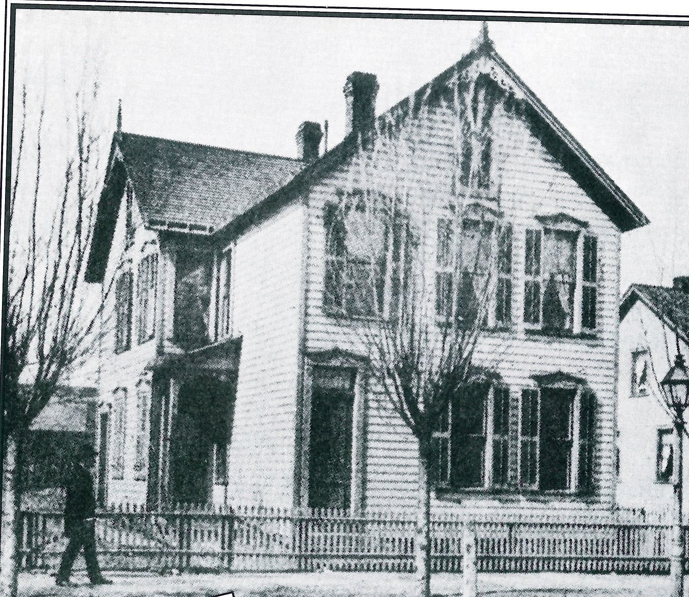 The Cleveland Home For Aged Colored People at its original location on Giddings Avenue.